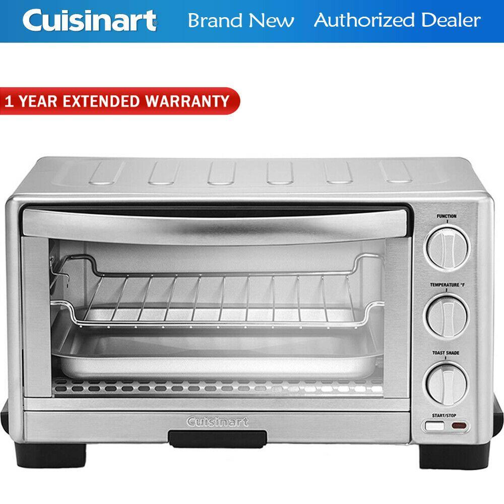 Cuisinart Tob1010 1800 Watt Toaster Oven Broiler W 1 Year
