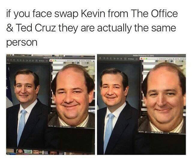 Ted Cruz S Famous Chili Kevin The Office Office Memes Office Jokes
