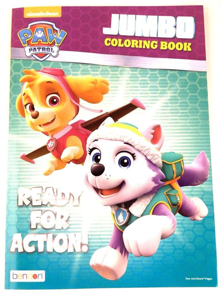 Details About Paw Patrol Ready For Action Nickelodeon Jumbo