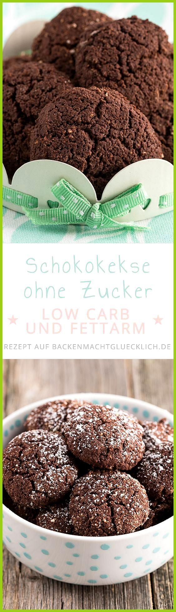 Low Carb Schokokekse ohne Zucker #Carb #Fitness food challenge #Fitness food clean eating #ohne #Sch...