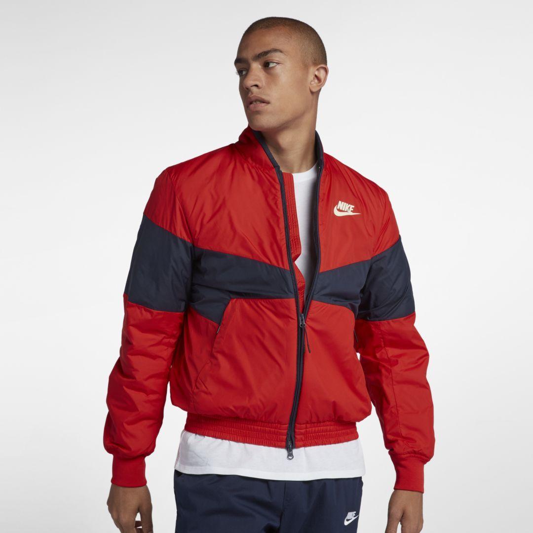 73fe57e2e Sportswear Synthetic Fill Men's Graphic Bomber Jacket in 2019 ...