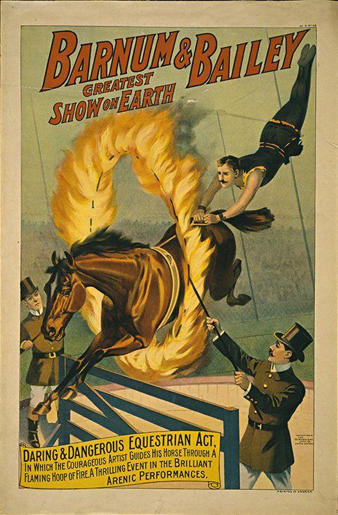 20x30 1890s Classic Circus Poster Ringling Bros Circus Parade