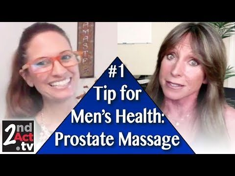 Male to male prostate massage