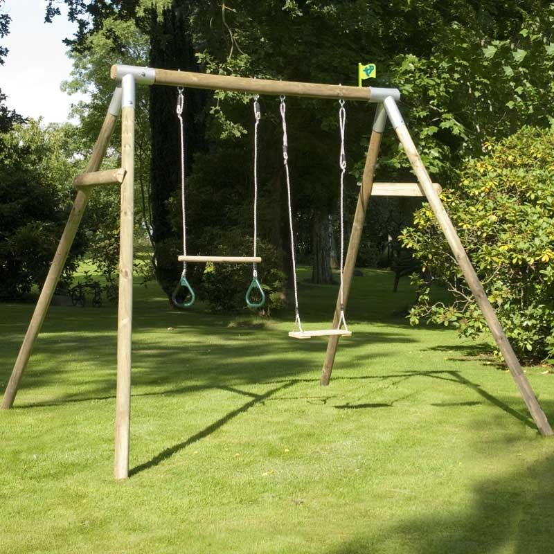 Image result for round timber swing   Climbing frame   Pinterest ...