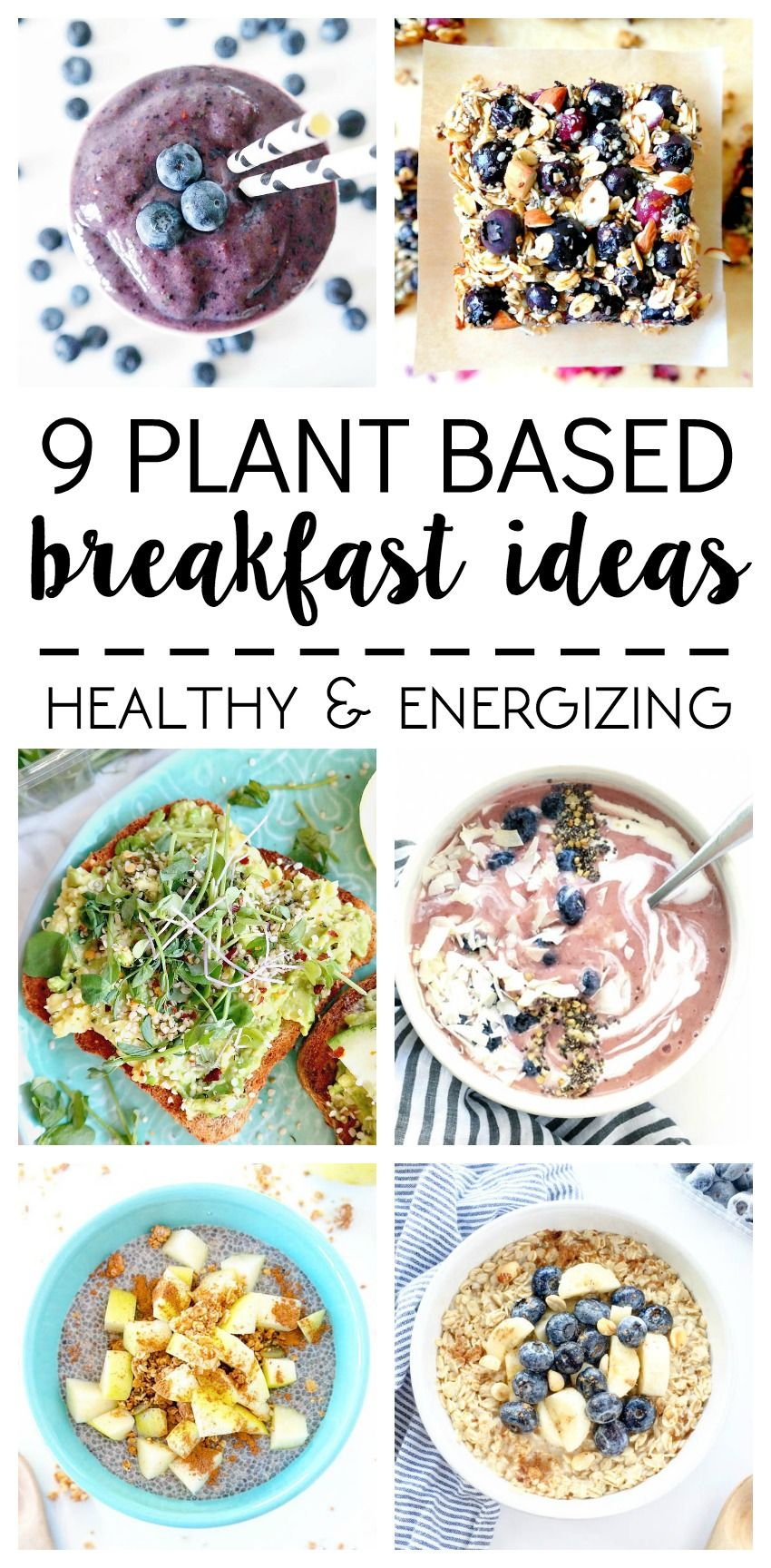 What I Ate 9 Plant Based Breakfast Ideas Wfpbd Plant