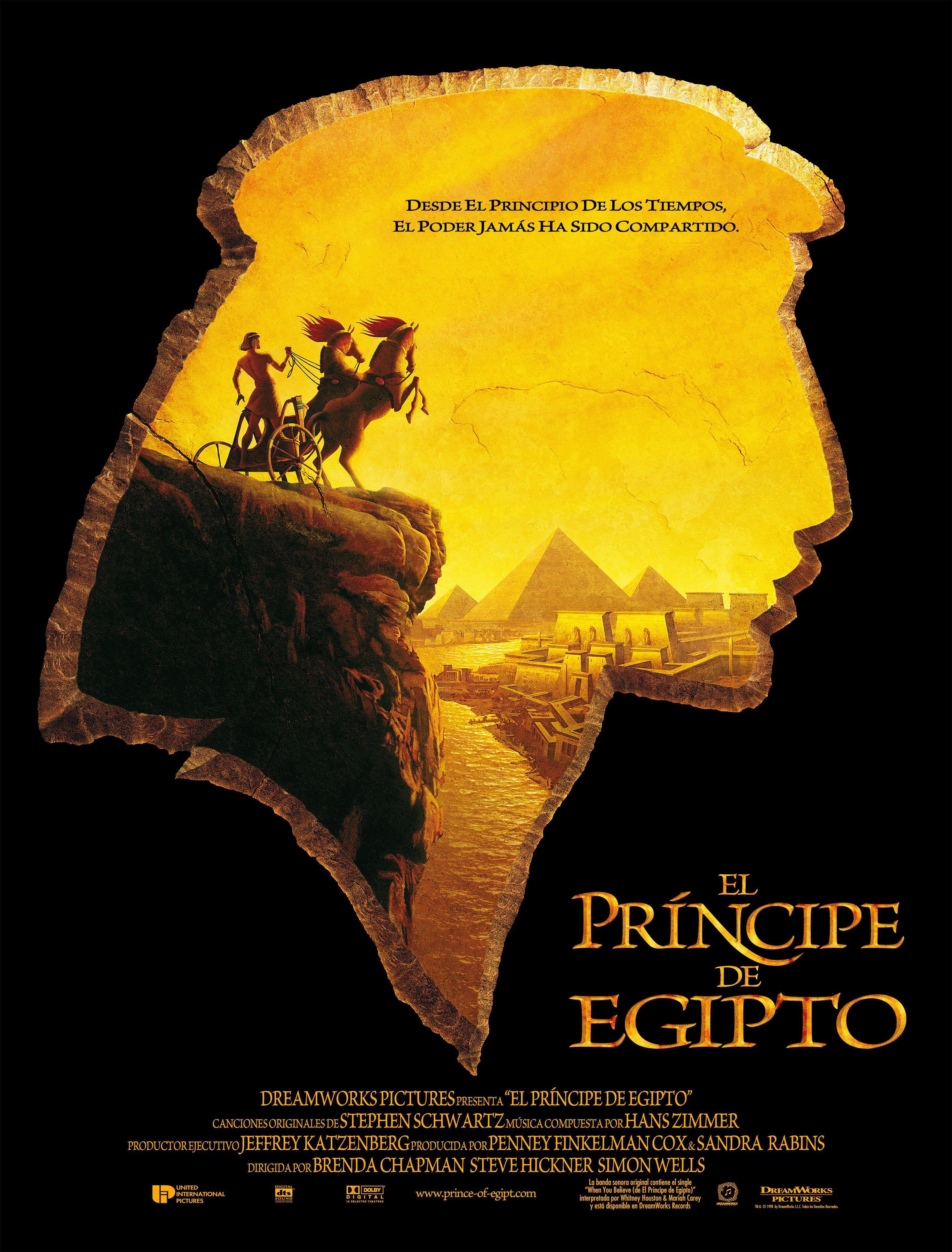 El Príncipe De Egipto El Principe De Egipto Peliculas De Arte Egipto
