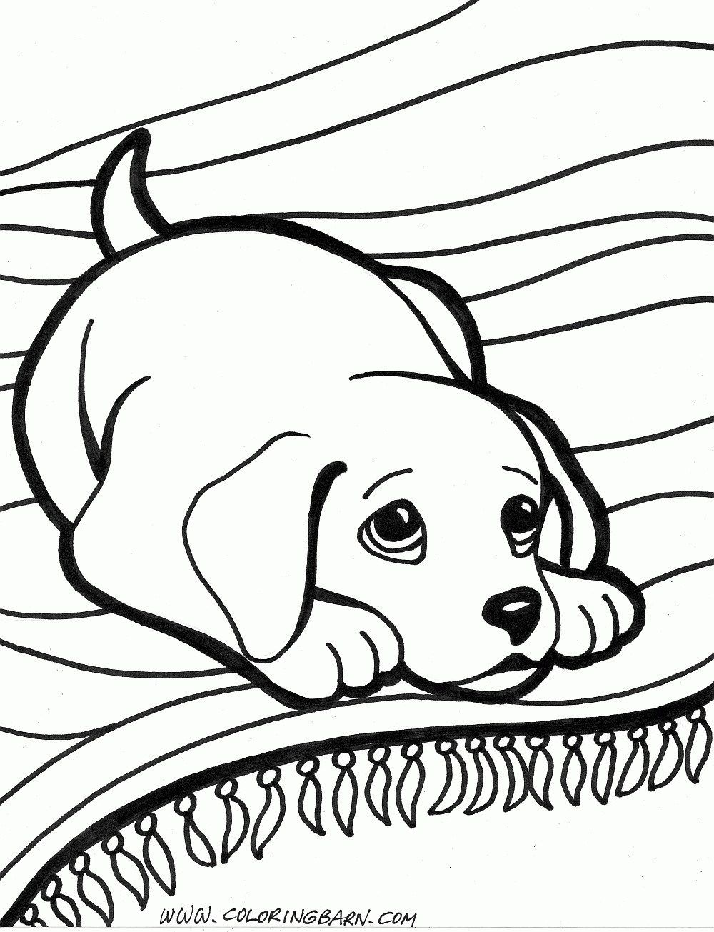 Puppy Coloring Pages Puppy Coloring Pages Dog Coloring Pages Free