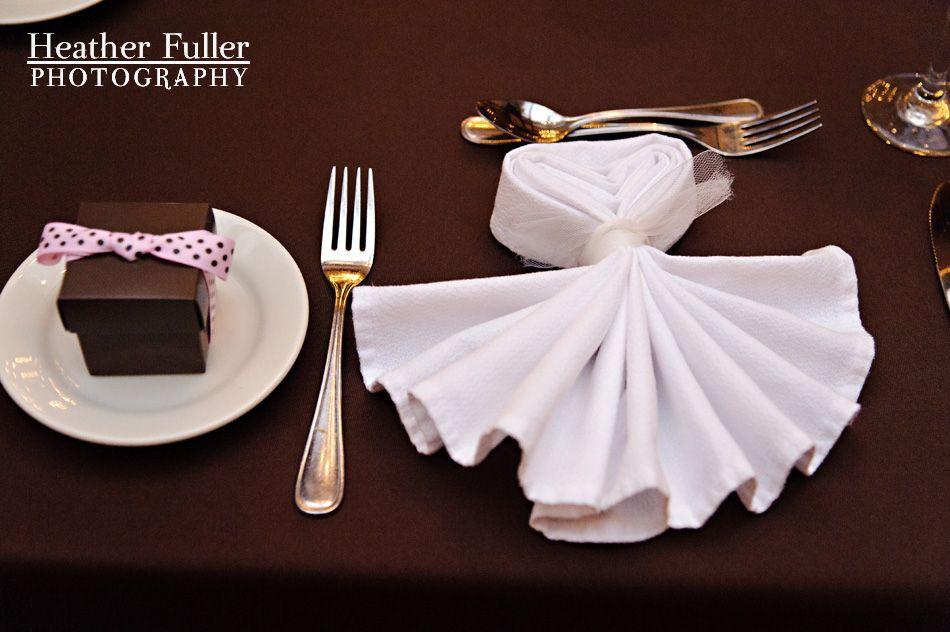 Dress Napkin Fold
