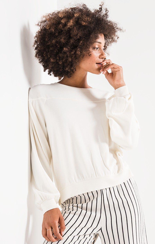 c4bb89b434eb The Elizabeth Pullover Fleece   Z SUPPLY