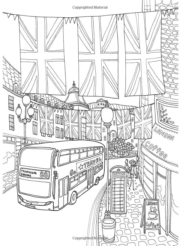 Colorear Europa: Londres con Encanto: Il-Sun Lee: 9781626923904 ...