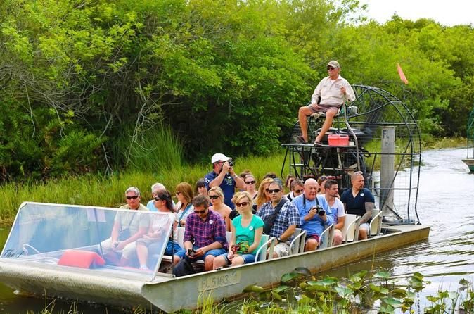 Half Day Bus Trip To Everglades With Airboat Ride 2017 Miami Airboat Rides Bus Travel Everglades