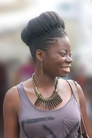 Lovely. Cornrow crown | Beautiful black hair, Natural hair styles, Hair styles