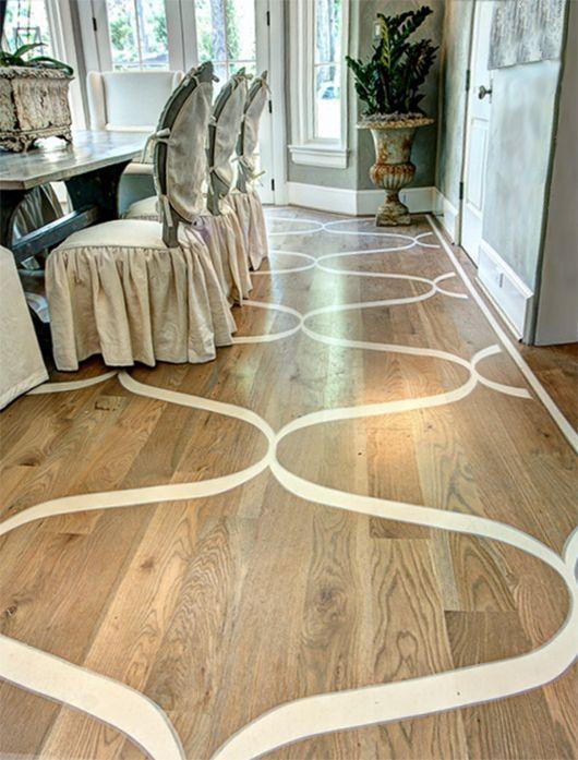 Boden Streichen Ideen Für Wohnesszimmer Mit Holzboden Und Rustikales  Interieur Mit Esstisch Holz