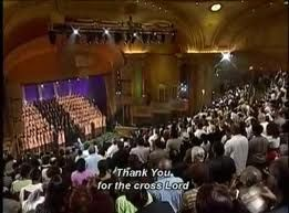 Sunday Church Service at the Brooklyn Tabernacle.