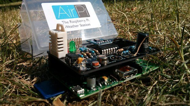 Airpi kit raspberry pi weather station shield from