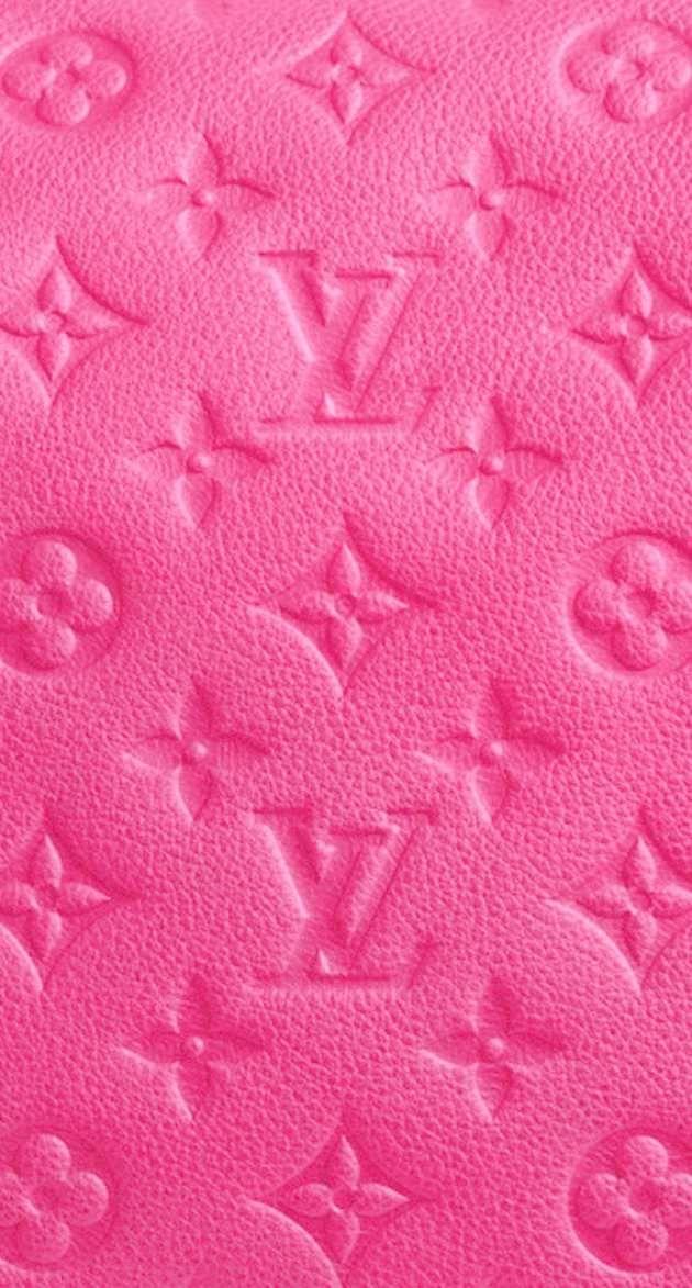 ピンクのルイヴィトン