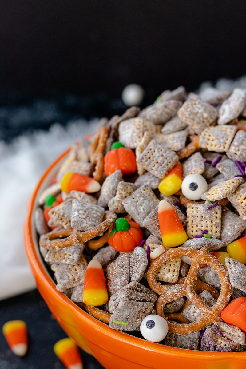 A perfect kid friendly Halloween snack, this themed puppy