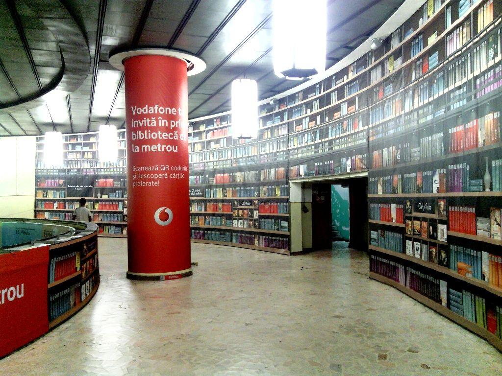 Vodafone Digital Library Bucharest Subway Bucharest Digital Library Library