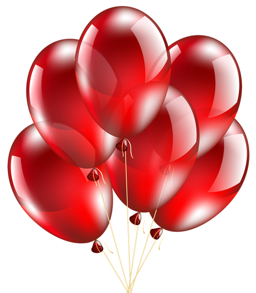 New Year Red Balloon Png Clipart Red Balloon Newyear New Year Clipart
