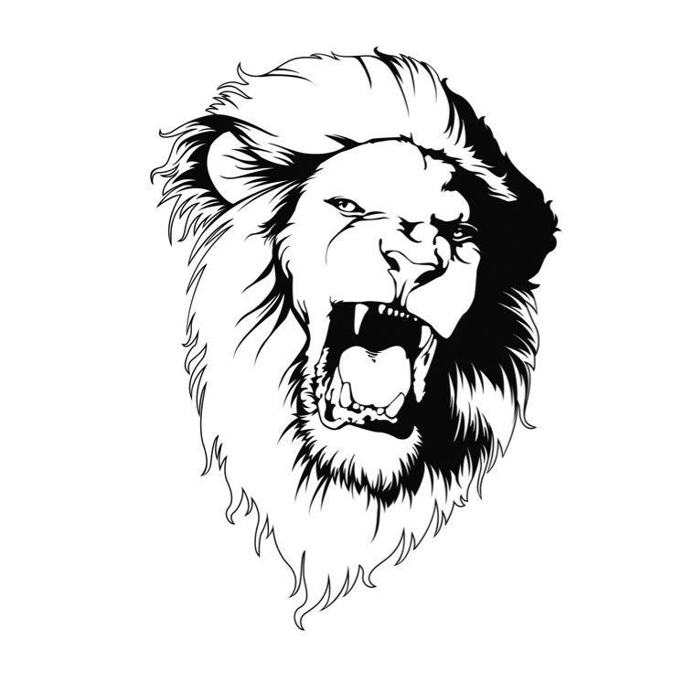 coloriage t te de lion classe pinterest tete de lion lion et tete de. Black Bedroom Furniture Sets. Home Design Ideas