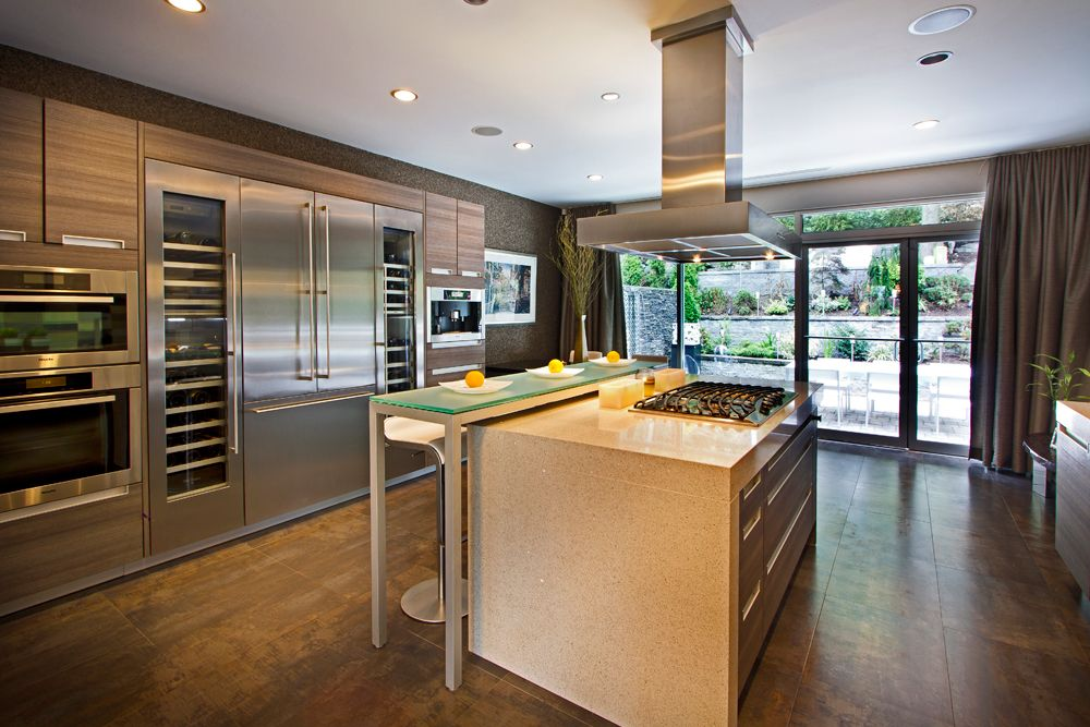 Interior Photography, New Jersey, Modern Kitchen Island, Earth Tones ...