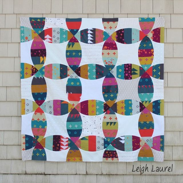 melon double wedding ring quilt a sizzix giveaway leigh laurel studios - Double Wedding Ring Quilt Pattern