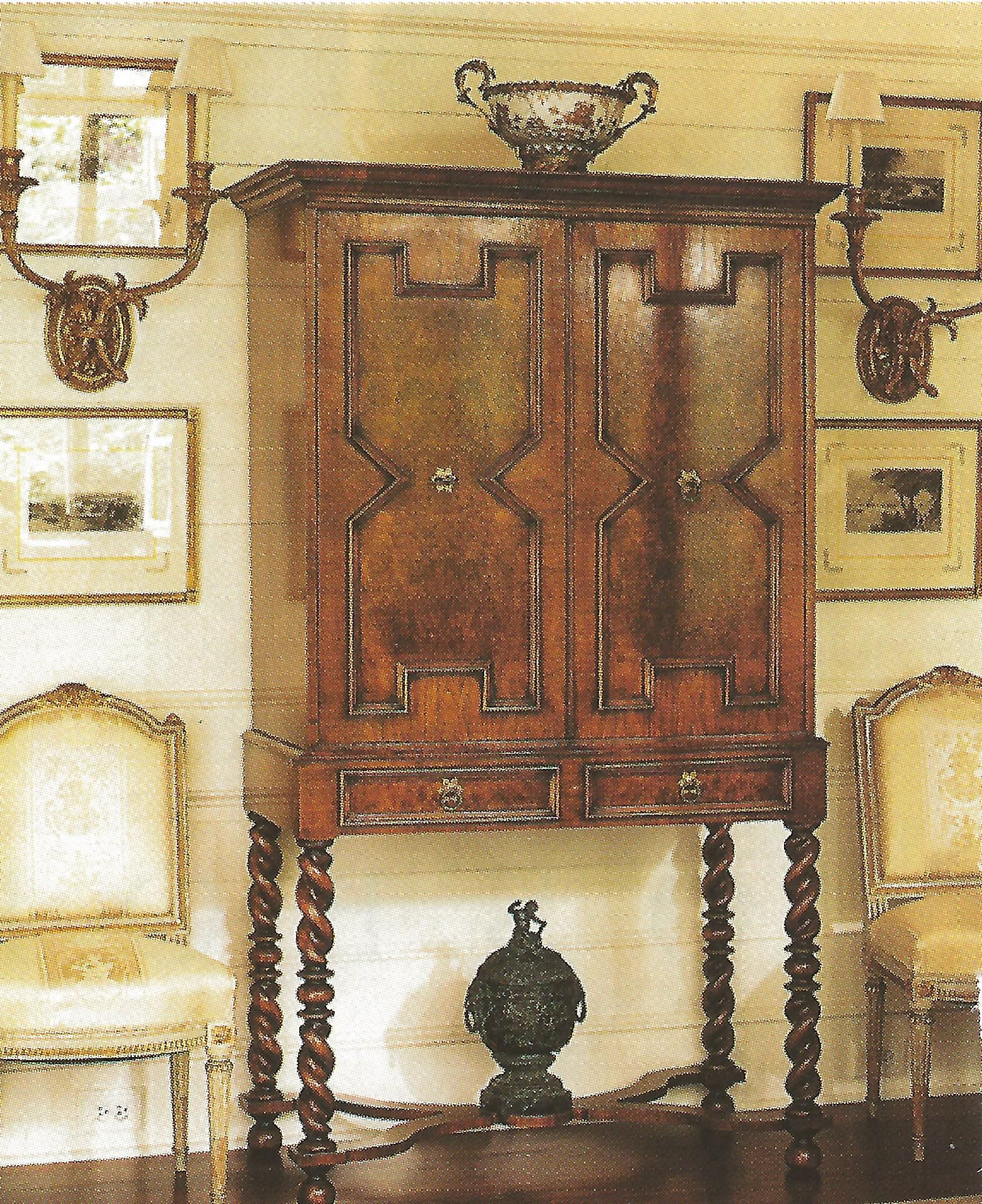 Use An Antique Cabinet To Hide A Tv Screen Hidden Tv Cabinet
