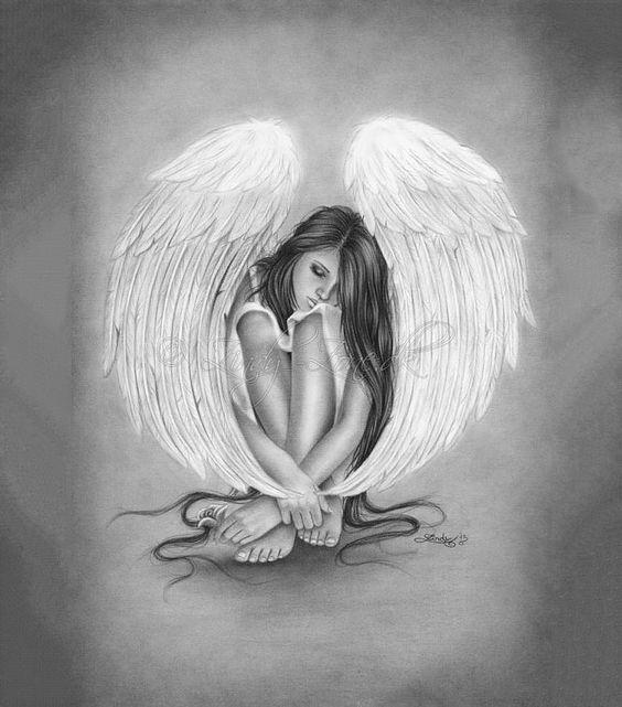 30+ Angel Drawings - Free Drawings Download Free  Premium - angels templates free