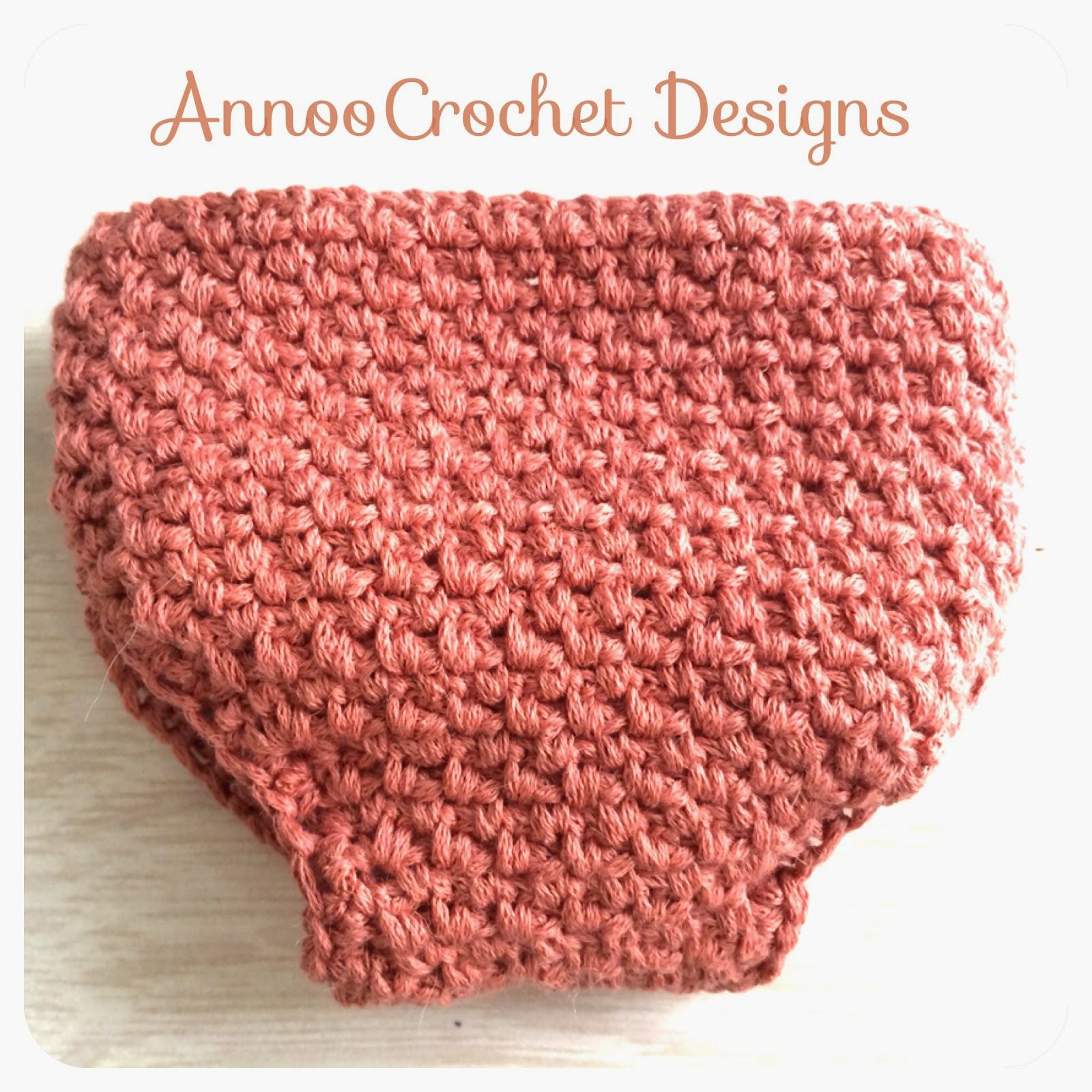 Newborn Diaper Cover Free Pattern By AnnooCrochet Designs I went to ...