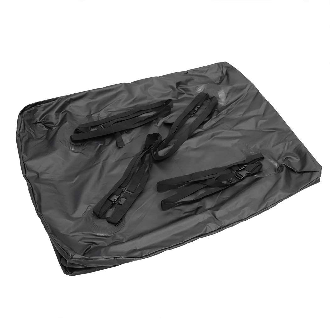 Luvodi Car Roof Bag Waterproof Rooftop Cargo Carrier Bag Car Top Storage Pack Box For Cars Vans Suvs Selfdriving Storage Packing Outdoor Storage Cargo Carrier