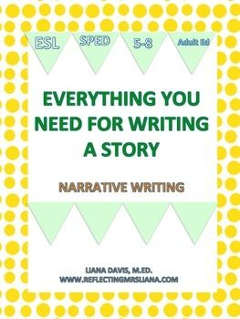 Enjoy+this+18+page+packet+that+helps+students+write+a+story+from+beginning+to+end.+It+is+broken+up+into+all+the+parts+to+write+a+story.++The+following+topics+are+in+the+packet:+protagonist,+antagonist,+setting,+rising+action,+climax,+falling+action,+and+resolution.