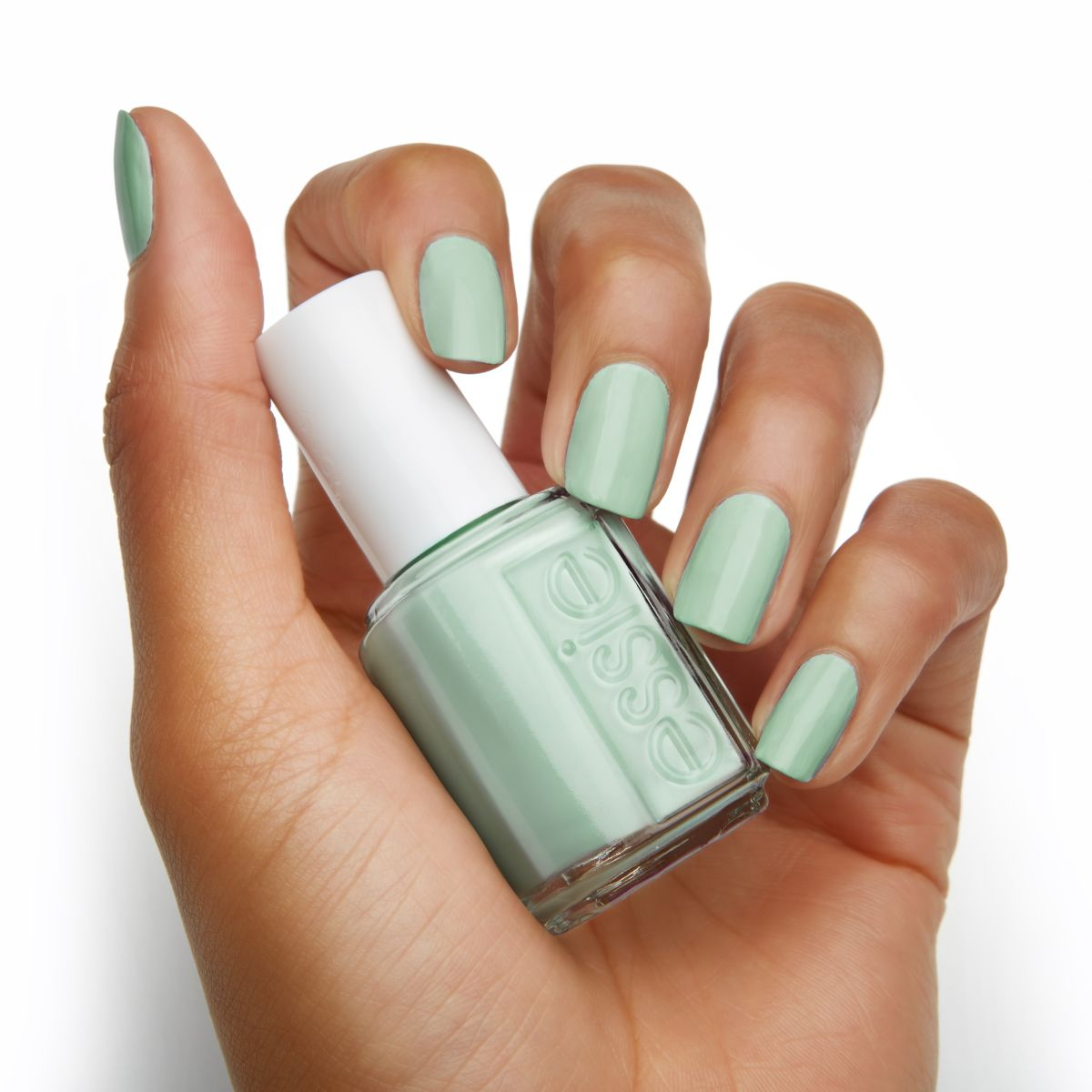 Dip your nails in essie\'s stunning \'mint candy apple\' for a mani ...