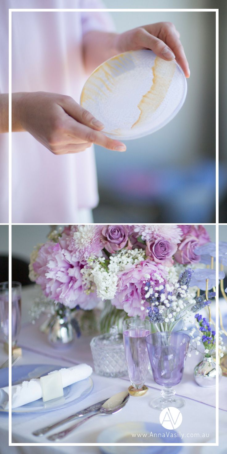 AnnaVasily Anthe / 6pcs, Small violet / light purple