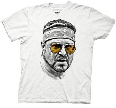 Big Lebowski - Walter Orange Glasses T-Shirt at AllPosters.com