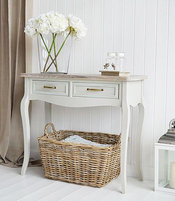small hallway furniture. country hallway furniture. the bridgeport grey console table for halls. washed wood small furniture r