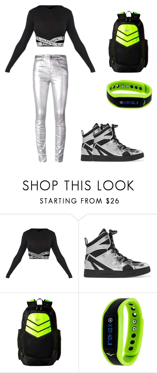 """""""Shine"""" by rosalya on Polyvore featuring Marc by Marc Jacobs, NIKE, Everlast and Étoile Isabel Marant"""
