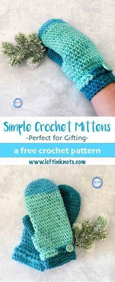 Frozen Fingers Crochet Mittens   Stulpen, Handschuh und Strümpfe