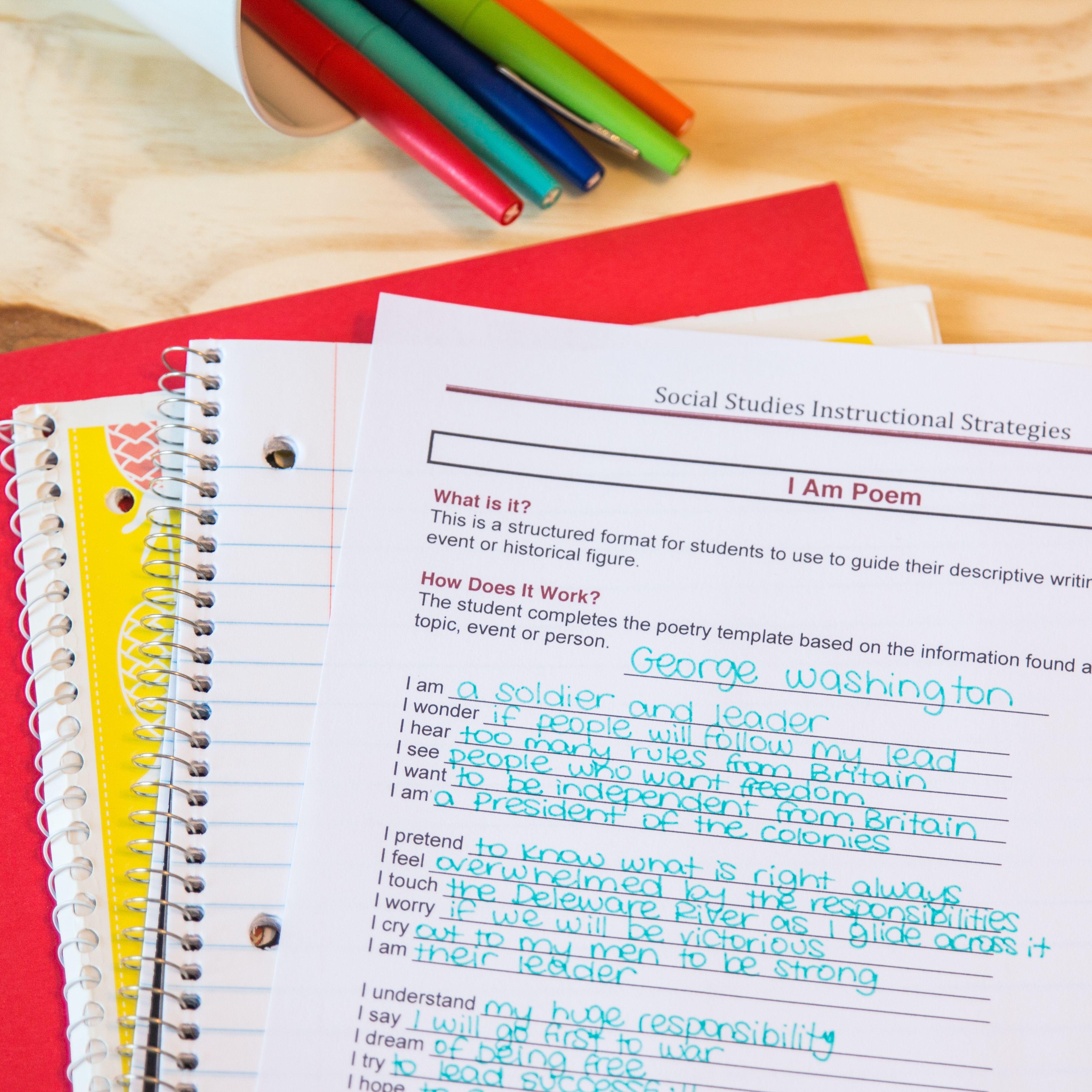 Social Studies Teaching Strategies Binder And Manual History Class