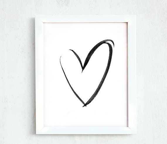 This Item Is Unavailable Minimalist Wall Decor Heart Printable Easy Drawings