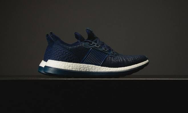 New Adidas Pureboost ZG Running Shoe Navy Blue White Men s 12.5 BA8454   fashion   fd5d91c9b