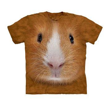 Matthew - Guinea Pig Face T-Shirt