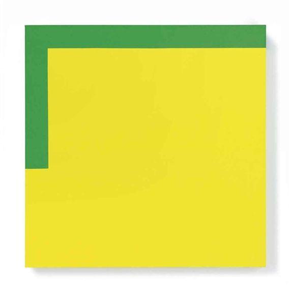 Carmen Herrera, More Yellow, Less Green