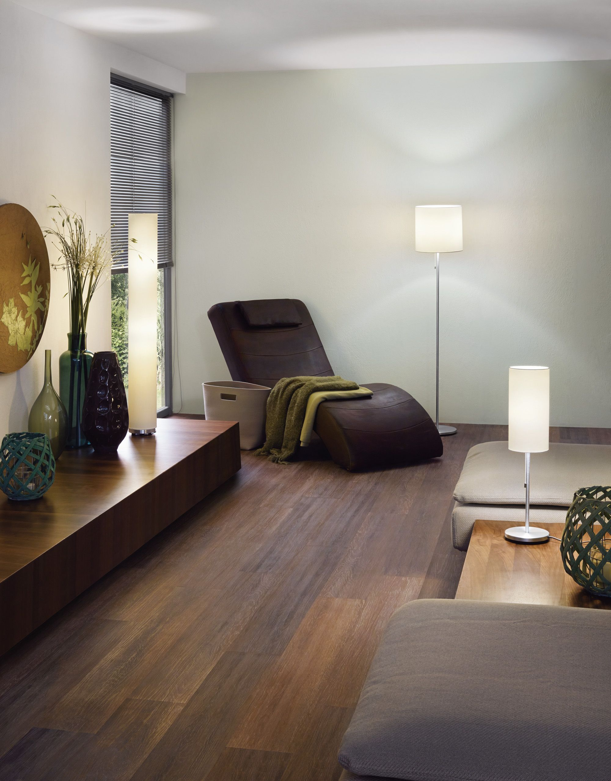 Eglo Tube And Sendo Family With Table Lamp 82804 And Floor Lamps  # Muebles Lantada