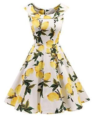 Vintage Retro Rockabilly Cocktail Party Dress #cocktailpartydresses