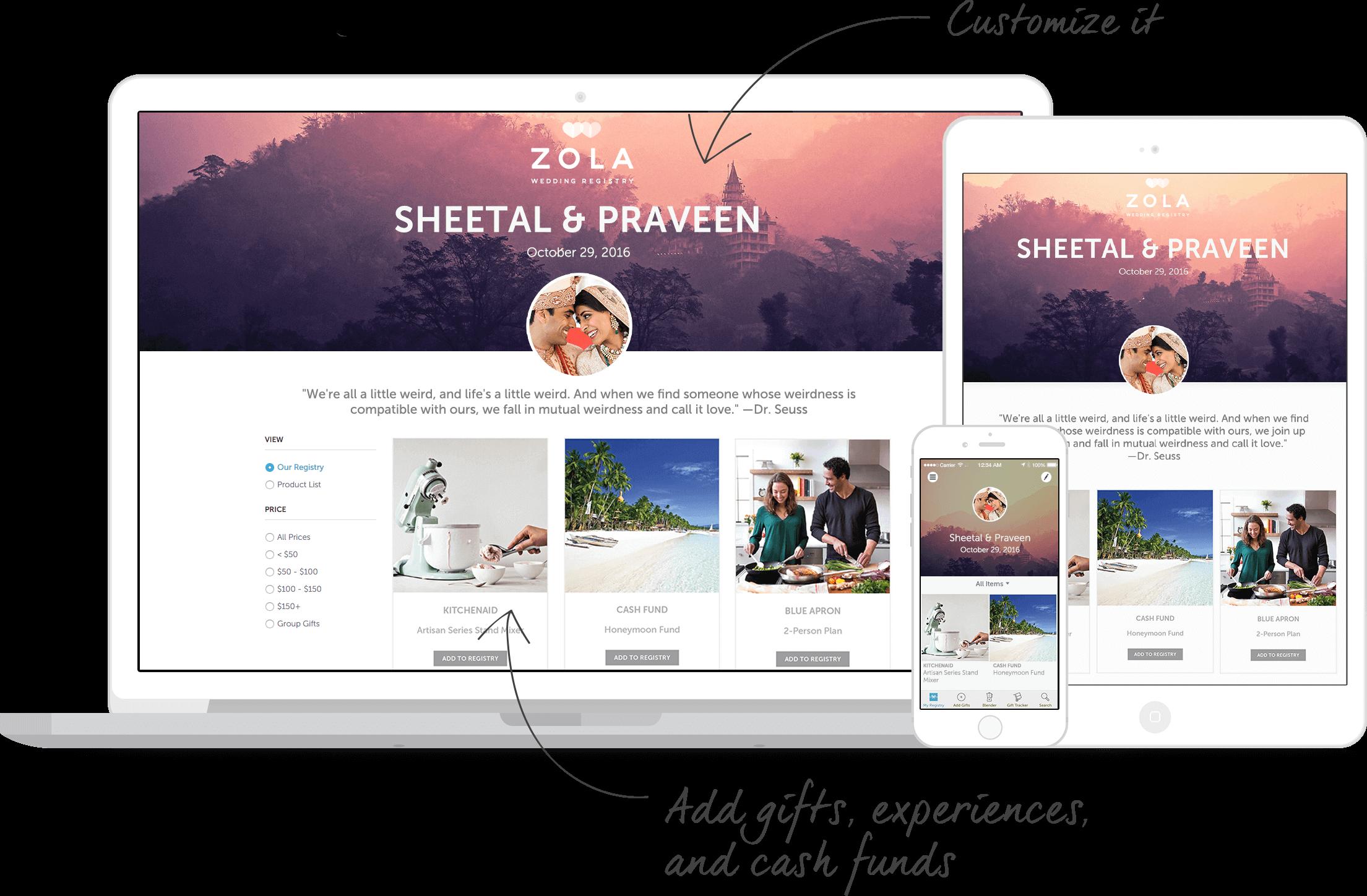 Zola Wedding Registry | Wedding | Pinterest | Wedding and Wedding