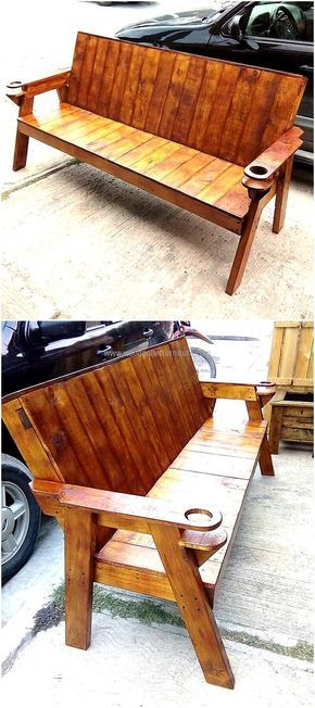 Convert Old Used Pallets Into Something Useful | Bancos, Madera y ...