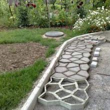 Photo of Zement-Ziegelstein formt Patio-Betonplatte-Weg-Garten-Verzierungen    If you wan…
