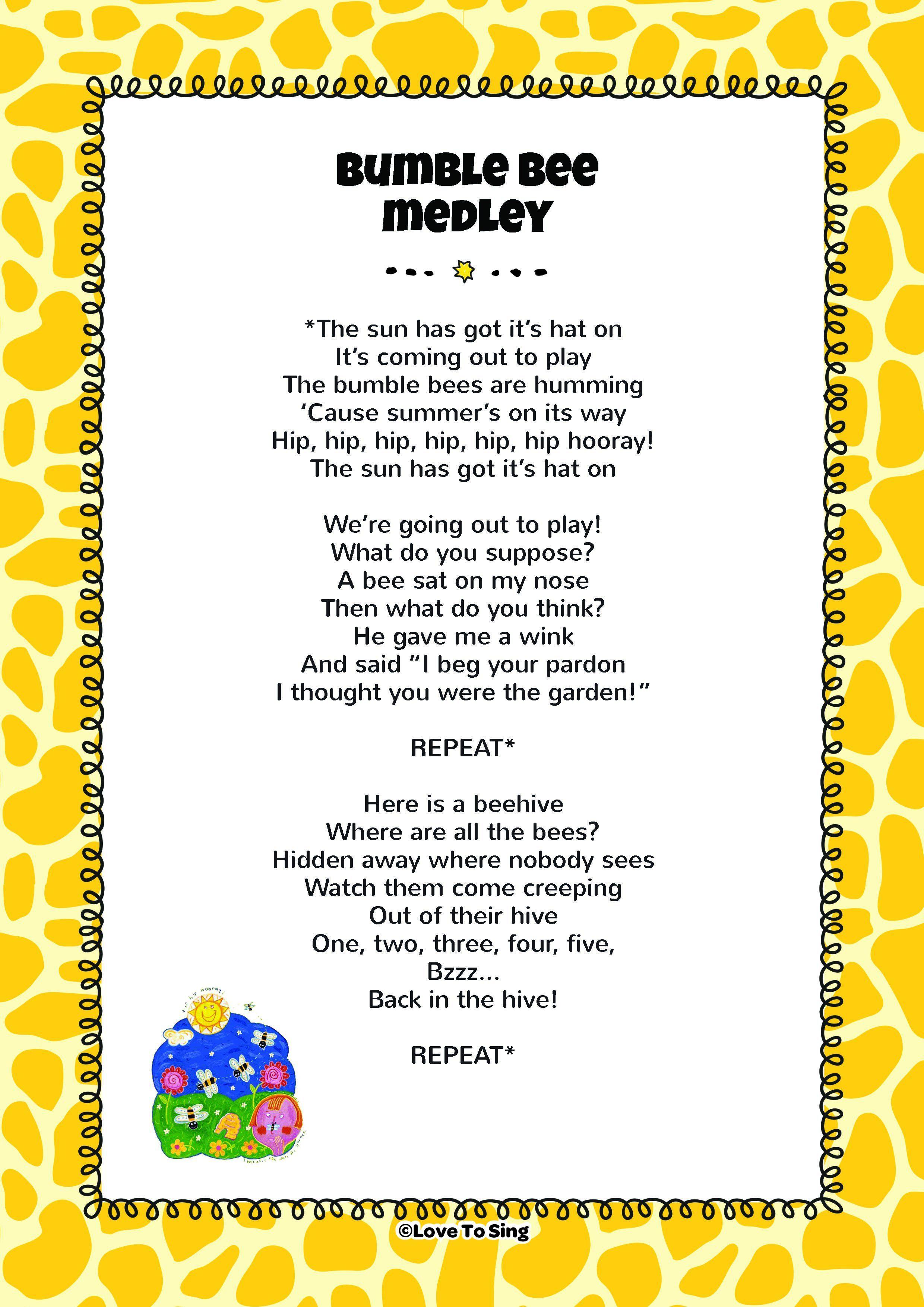 Summer Nursery Rhymes Lyrics Thenurseries