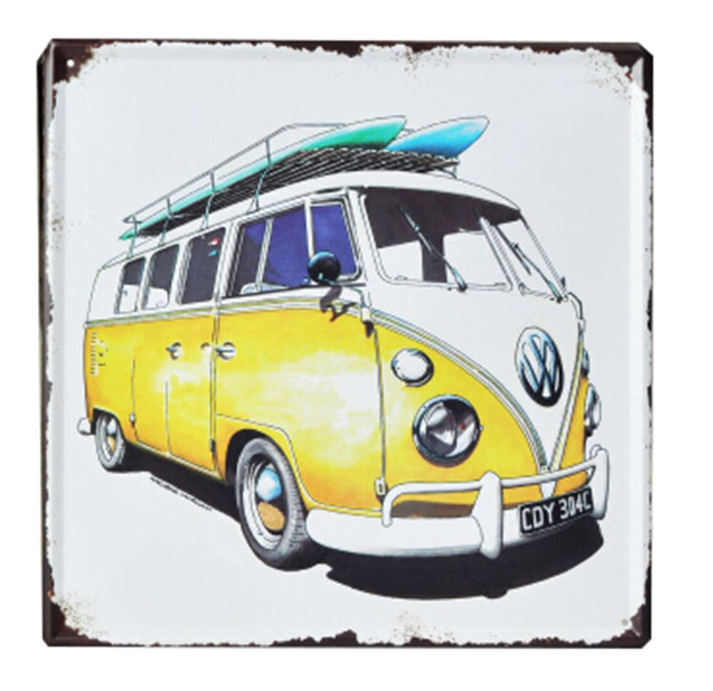 Rustic VW Bus Metal Wall Art | Wall Decor | Pinterest | Metal wall ...
