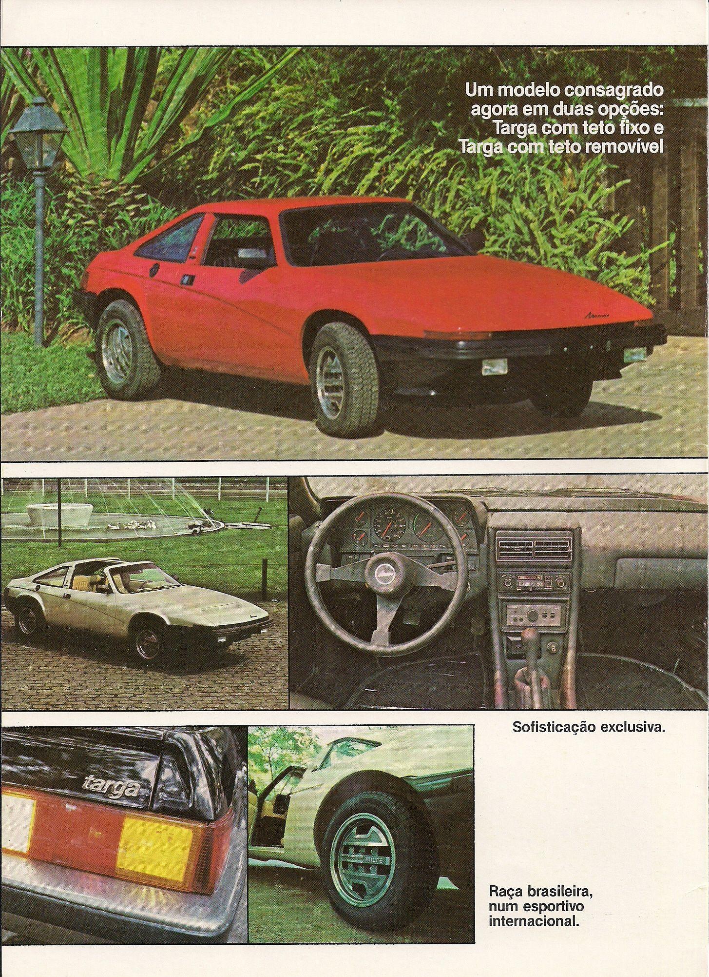 1984 Miura Targa Brasil | Carros e caminhões, Carro